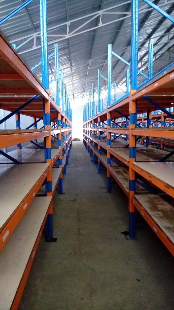 jual rak selective pallet bekas di Cibitung