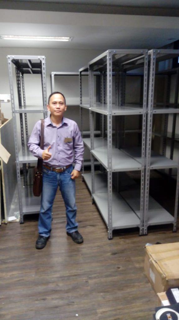 Jual Rak Gudang Heavy Duty di Semau Selatan Kupang