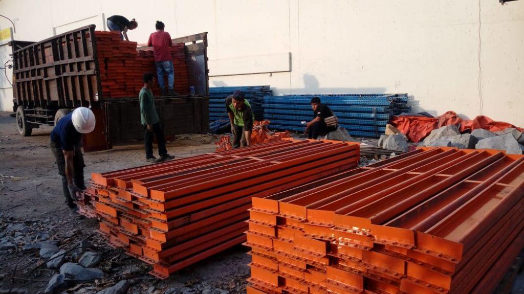 Jual Rak Gudang Heavy Duty di Jagabita Bogor