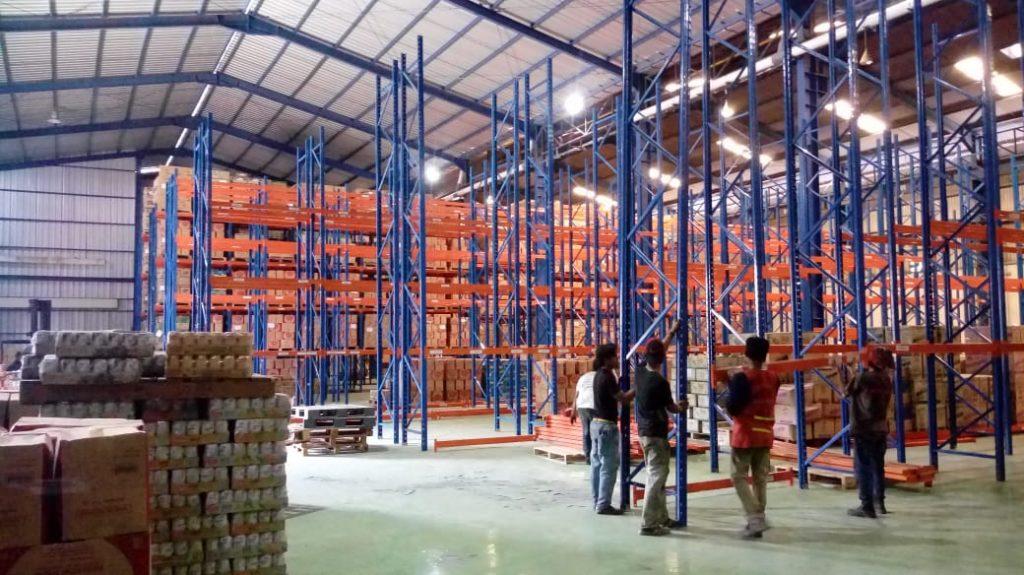 Jual Rak Gudang Heavy Duty di Sukarenek Bogor