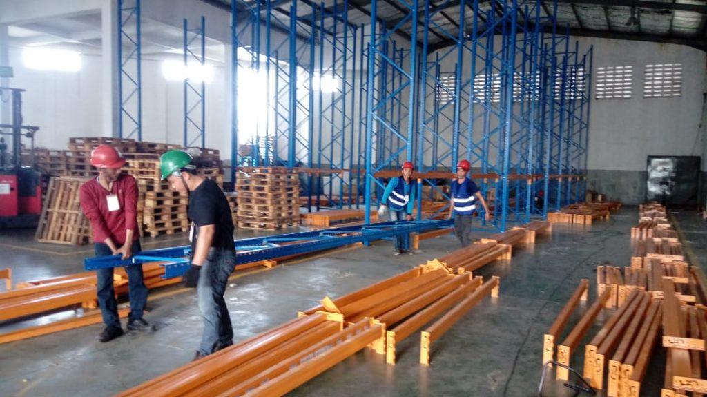 Jual Rak Gudang Heavy Duty di Banjarbaru Selatan Kota Banjarbaru