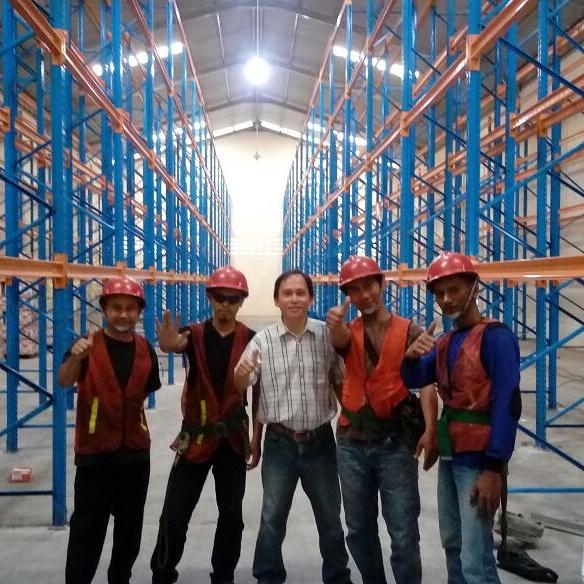 Jual Rak Gudang Heavy Duty di Puspanegara Bogor