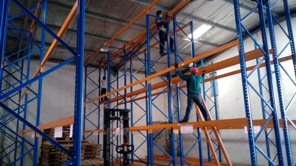 Jual Rak Gudang Heavy Duty di Turatea Jeneponto